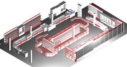 Дизайн-проект и оборудование магазинов CoolExpert