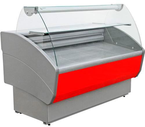 Холодильная витрина среднетемпературная Полюс ВХС-1,5 Эко