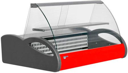 Настольная охлаждаемая витрина Полюс ВХС-1,0 Арго