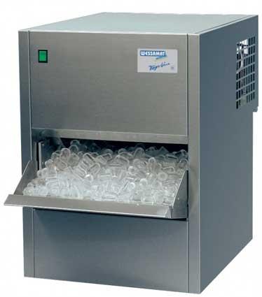 Льдогенератор кубикового льда Wessamat  W 51L