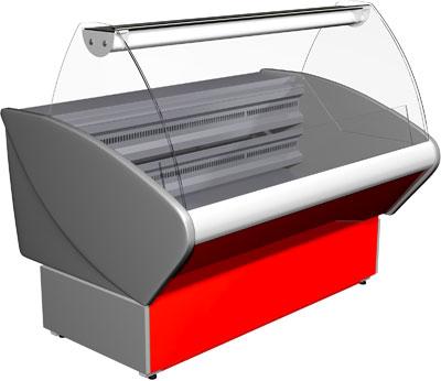 Морозильная витрина (торговый прилавок) Полюс ВХСн-1,5