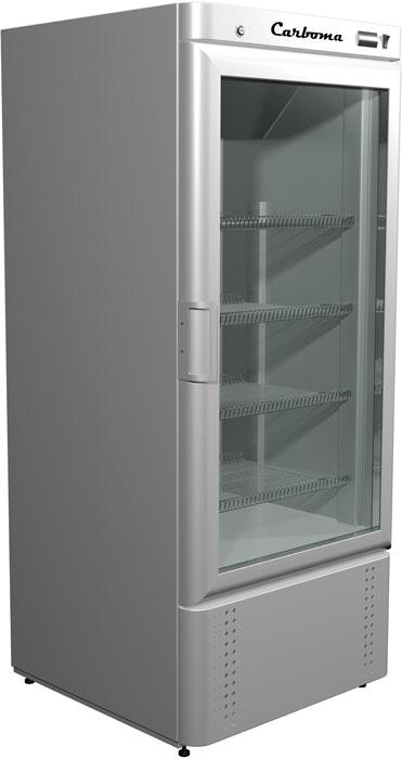 Холодильный шкаф со стеклянной дверью Carboma R700C