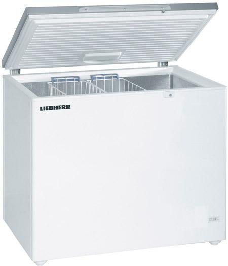 Морозильный ларь с нержавеющей крышкой Liebherr GTL 3006