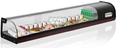 Настольная холодильная витрина Carboma ВХСв-1,8