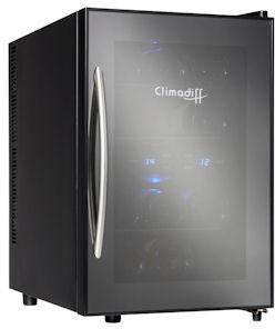 Настольный винный шкаф Climadiff AV12DV (Duovino)