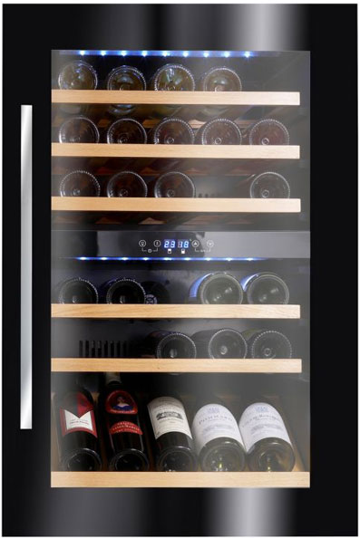 Винный шкаф для встраивания в мебель Climadiff AV46CDZI