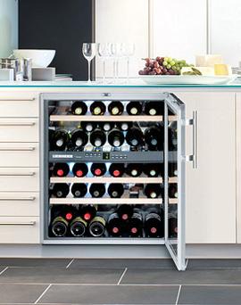Встраиваемый винный шкаф Liebherr WTUes 1653 Vinidor