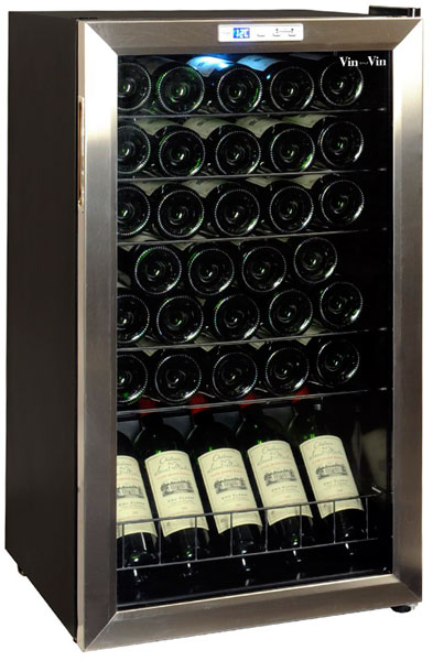 Узкий винный шкаф Climadiff CVS33Х
