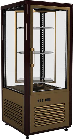 Холодильный шкаф-витрина с вращающимися полками Carboma R120Cвр