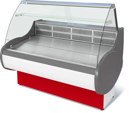 Холодильная комбинируемая витрина для мяса и мясной продукции Марихолодмаш Таир ВХСн-0,25 (1,2)