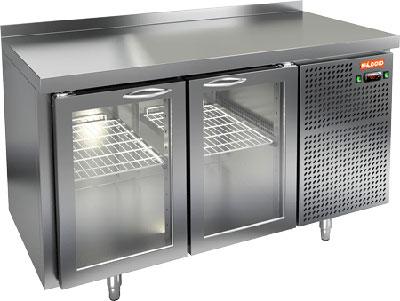 Холодильный стол с прозрачными дверцами Hicold GNG 11/HT