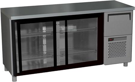 Холодильный стол Carboma BAR-360K