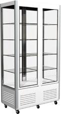 Холодильный шкаф с прозрачными стенками Carboma R800C