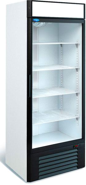 Холодильный шкаф с прозрачной дверью Марихолодмаш Капри 0,7 СК