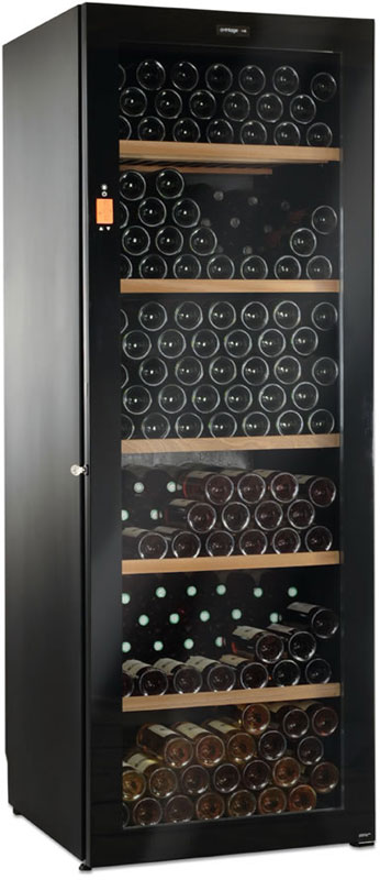 Трехзонный винный шкаф Climadiff DV315MGN3-2