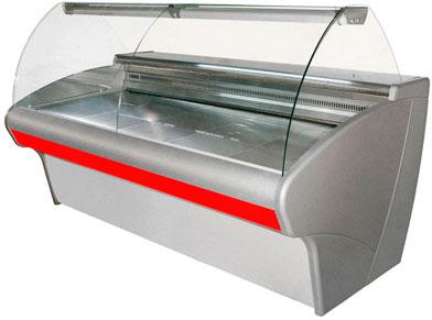 Широкая холодильная витрина Carboma ВХС-2,5
