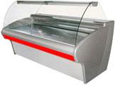 Длинная универсальная холодильная витрина Carboma ВХСр-2,5