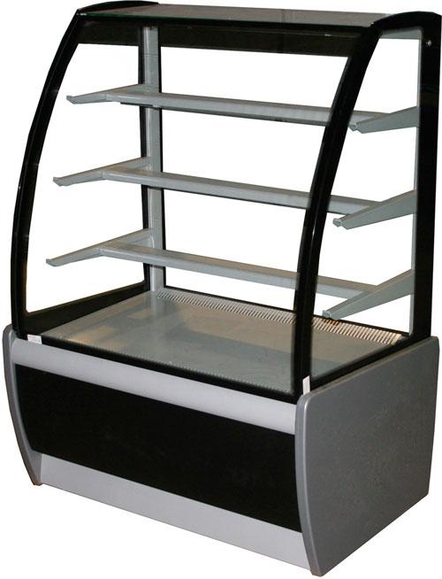 Охлаждаемая кондитерская витрина Carboma ВХСв-1,3д (ТЕХНО)