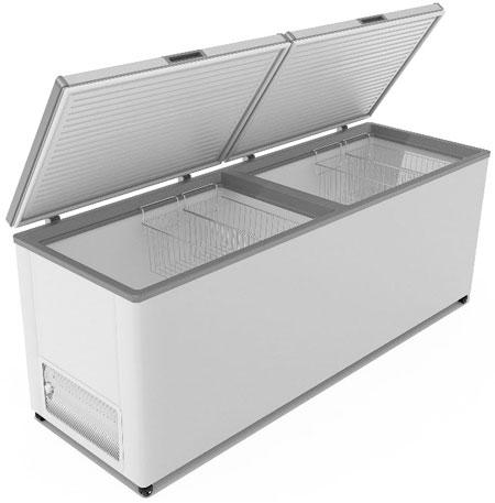 Морозильный ларь с двумя крышками Frostor F 800 SD