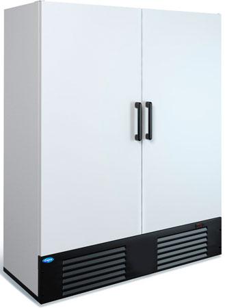 Двухдверный морозильный шкаф Марихолодмаш Капри 1,5Н