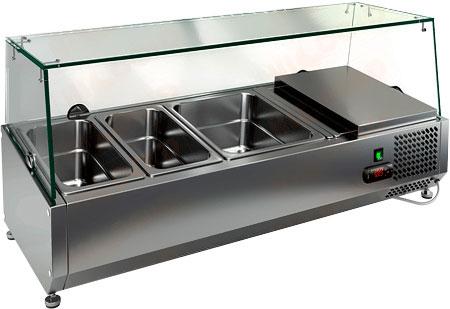 Настольная холодильная витрина Hicold VRTG 1000