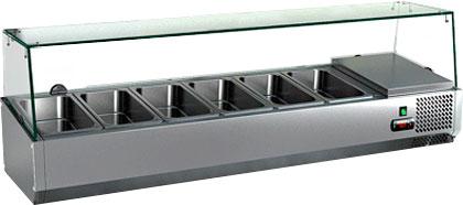 Настольная холодильная витрина Hicold VRTG 3