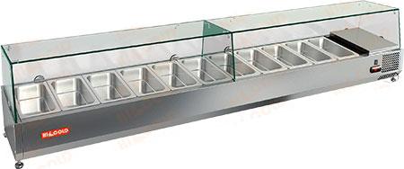 Настольная холодильная витрина Hicold VRTG 5
