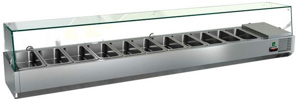 Настольная охлаждаемая витрина Hicold VRTG 6