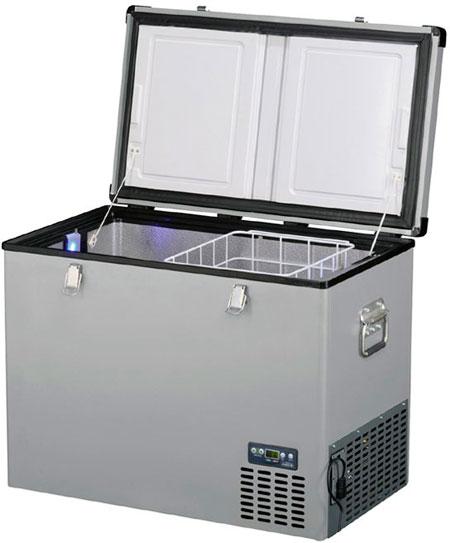 Универсальный автохолодильник Indel B TB100 Steel