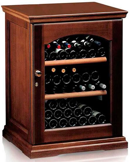 Винный холодильник IP Industrie CEX 151 LNU (цвет - орех)