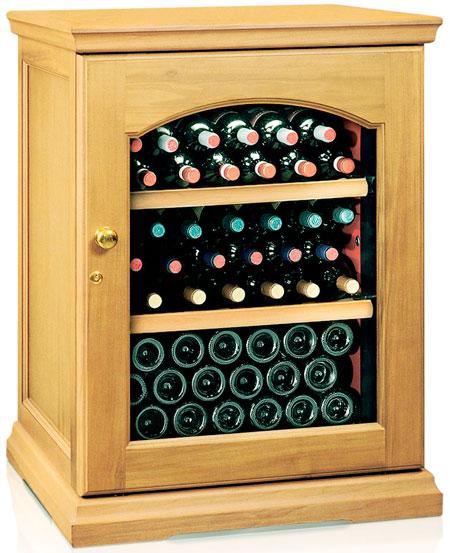 Винный холодильник IP Industrie CEX 151 LRU (цвет -дуб)