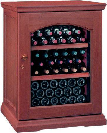 Винный холодильник IP Industrie CEX 151 LСU (цвет -вишня)