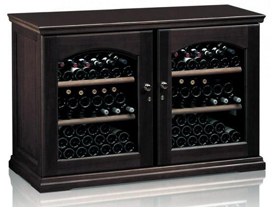 Винный холодильник IP Industrie CEX 2151 LVU (цвет - венге)