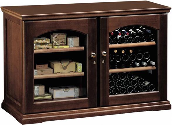 Винный холодильник IP Industrie CEX 2151 LNU (цвет - орех)