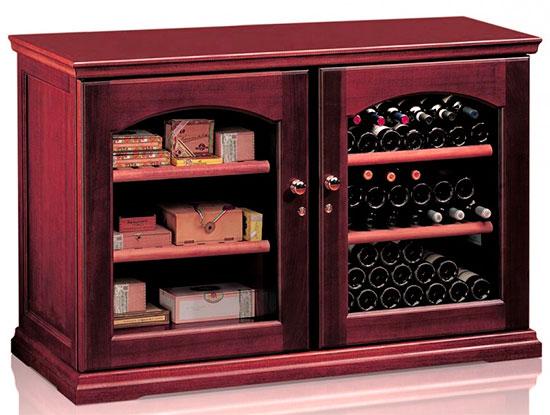 Винный холодильник IP Industrie CEX 2151 LСU (цвет - вишня)