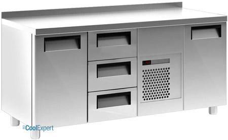 Холодильный стол Полюс 3GN/NT (2 двери, 3 ящика)