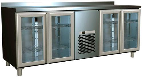 Холодильный стол Полюс 4GNG/NT
