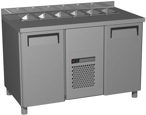Холодильный стол для салатов Полюс SL 2GN