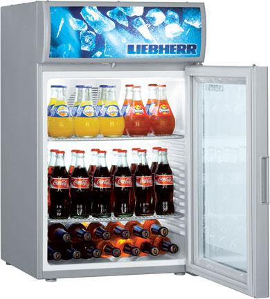 Настольный холодильный шкаф Liebherr BCDv 1002