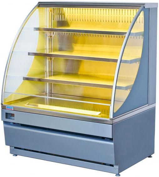 Холодильная горка Элка Вена 1,25 без ночной шторки