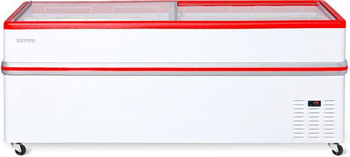 Ларь-бонета Снеж Bonvini BF-2100 L красный
