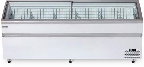 Ларь-бонета Снеж Bonvini BFG 2500 с гнутым стеклом