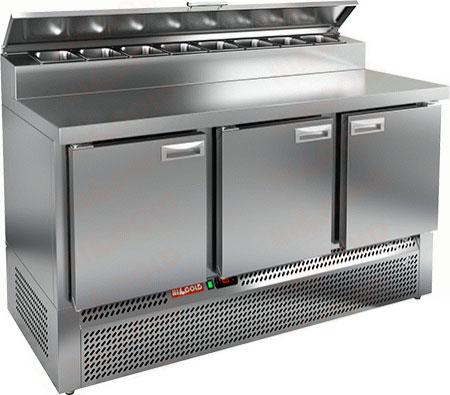 Холодильный стол для пиццы Hicold PZE2-111/GN (1/6H)
