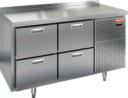 Холодильный стол Hicold GN 22/TN