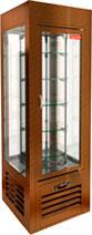 Кондитерская вращающаяся витрина Hicold VRC 350 R Sh Bronze
