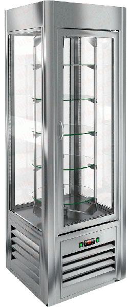 Вертикальная кондитерская витрина Hicold VRC 350 R Sh