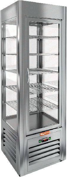 Вертикальная кондитерская витрина Hicold VRC 350 Sh
