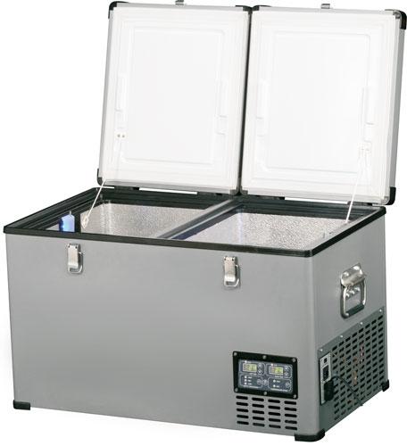 Двойной автохолодильник Indel B TB65 Steel