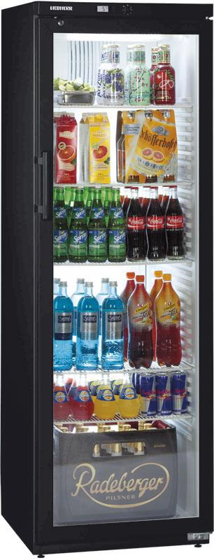 Холодильный шкаф черного цвета Liebherr FKv 4143-744 Black