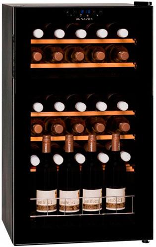 Холодильник для вина Dunavox DX-30.80DK